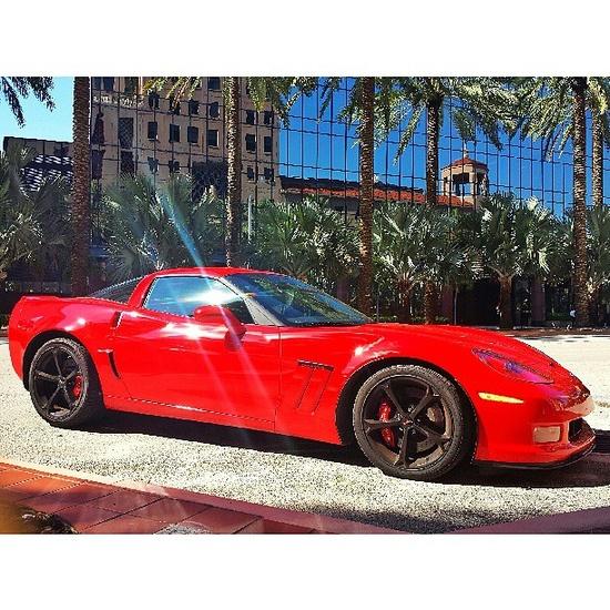Hot Chevrolet Corvette Grand Sport.