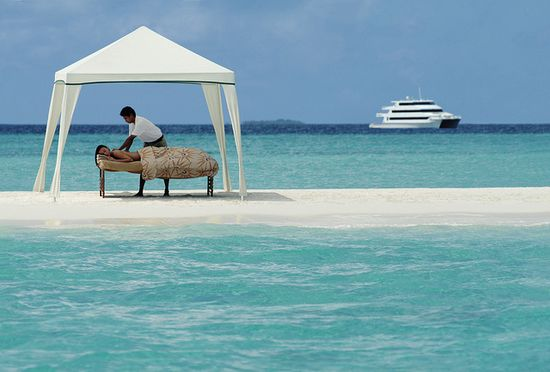 Total tranquility.  (Four Seasons Resort Maldives at Kuda Huraa)
