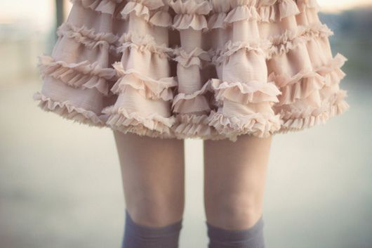 Ruffled Skirt--love love love!