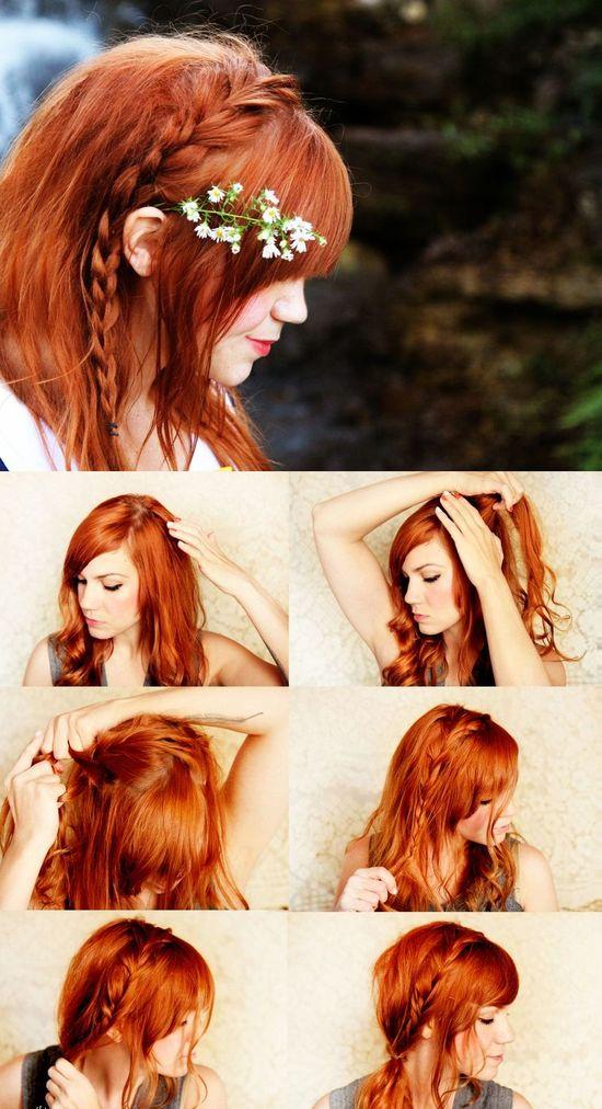 How To do a Side Braid : Hair Tutorial