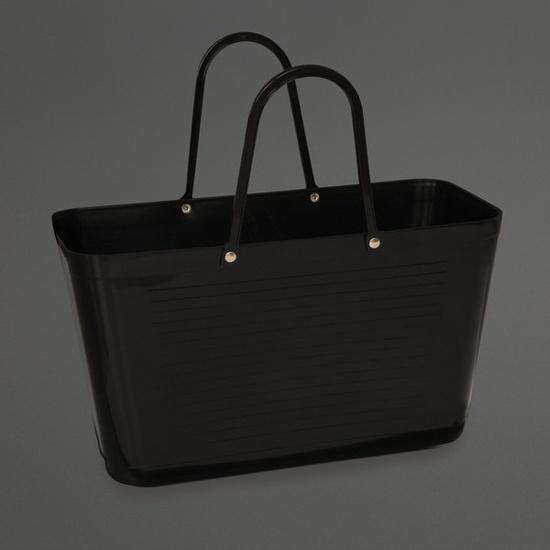 Bucket Bag Black, Labour and Wait