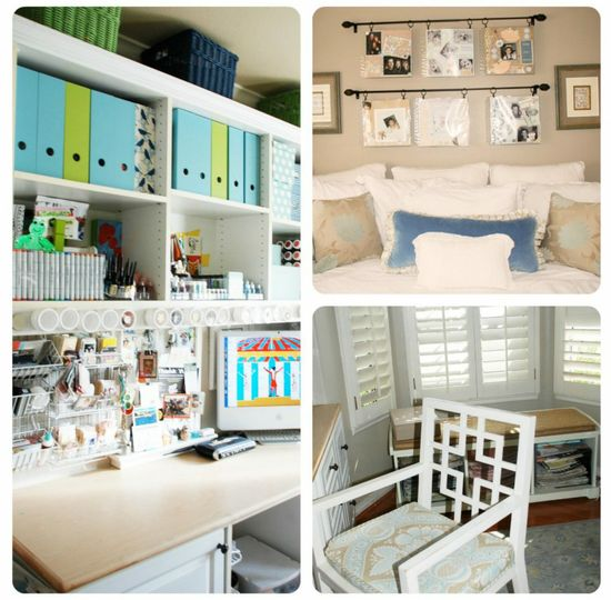 TONS of Small Space Organization ideas!