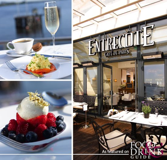 Entrecote is a popular Cardiff haunt due to its great food, sophisticated decor and chic, laid-back ambience.