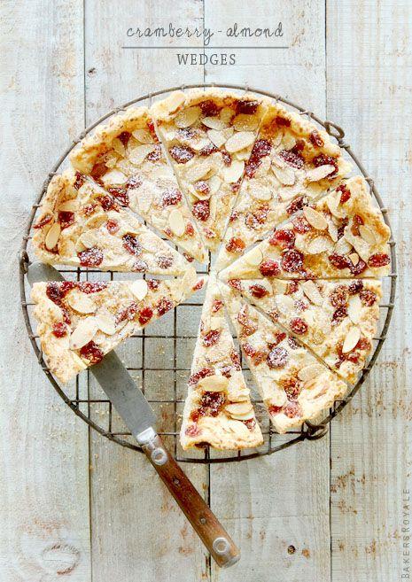 Cranberry-Almond Wedges #whbmfoodies  #FEELBEAUTIFUL #WHBM