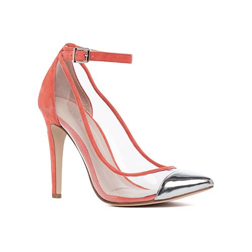 BCBGeneration Cynthia Pump // invisible shoes, love this effect! #wearabledesign #designinspiration