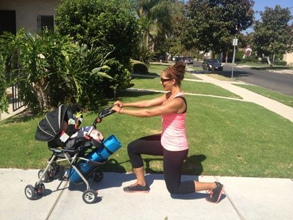Baby-mommy crossfit inspired workout- for all my mom #physical exertion #Workout Exercises