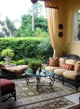 Tropical Home Design #interior design #home design #home decorating #home interior
