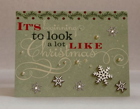It's Beginning to Look a lot like Christmas - Christmas Card