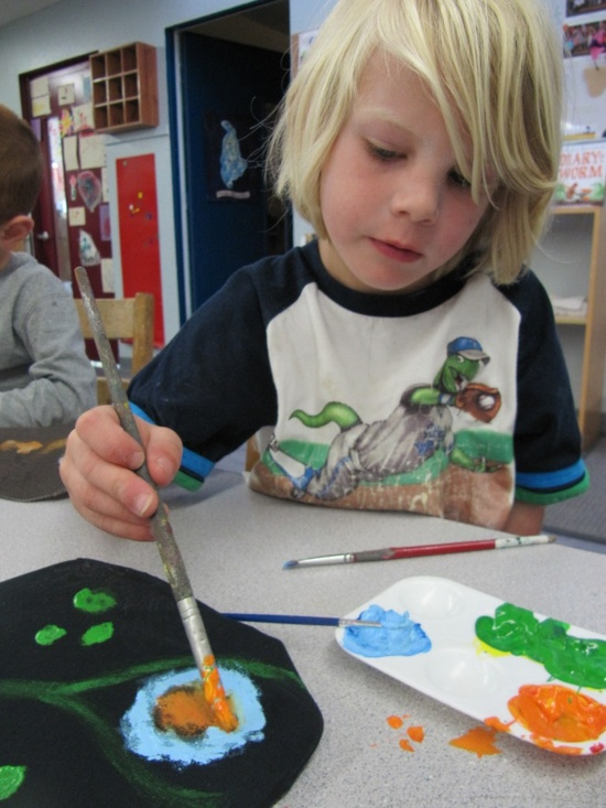 Great article on how children learn from producing art- (In my experience teaching High School and adult workshops, this also goes for teenagers and for adults, not just little children.)