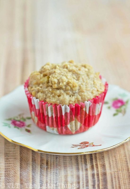 Banana oat muffins  -sweetened with honey. Pretty good. However, I prefer a drier muffin. Might skip the banana pieces and mash two bananas. I also used almond milk with no noticeable difference.