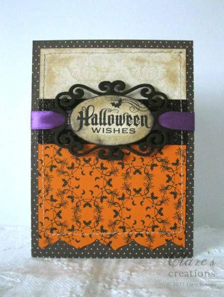 Beautiful vintage looking Halloween card