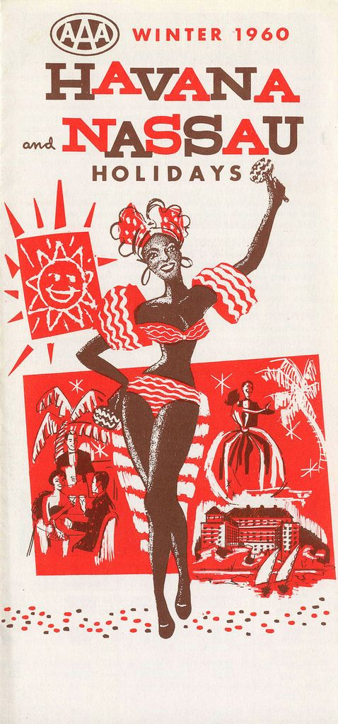 Havana and Nassau Holidays #travel #brochure 1960s
