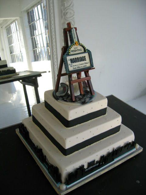 NYC wedding cake