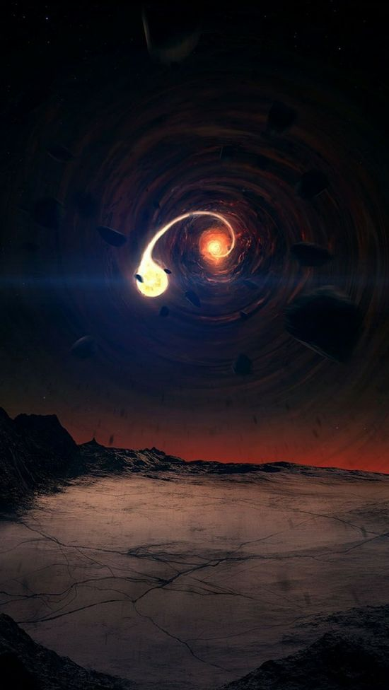 """Article : """"Secrets of Sunday's Rare Solar Eclipse Explained"""" and Rare """"Space-Art"""" Gallery"""