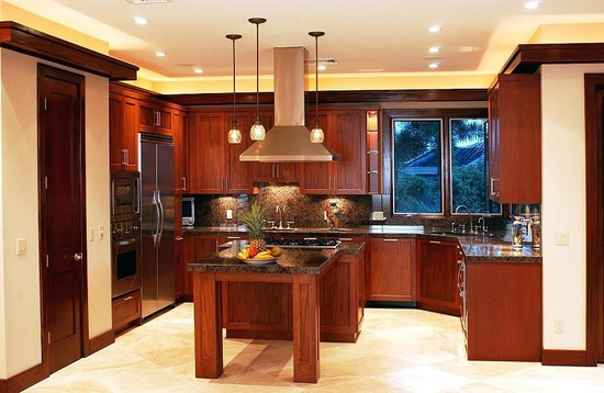 Wailea Viking Kitchen Interior Design