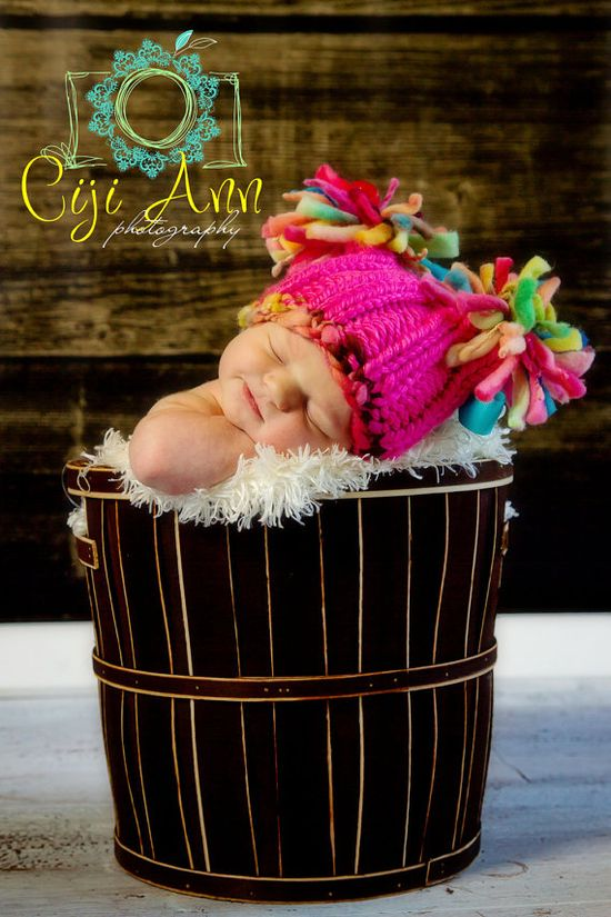 NEWBORN Photography Prop  Baby Knit Hat  Twin by knitwitwoolies, $25.00