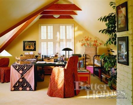 ...attic office