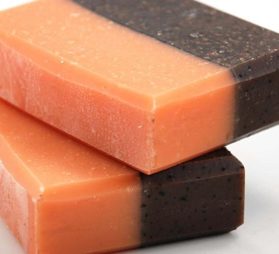 Vanilla Orange Kitchen Soap Handmade Cold Process, Vegan Friendly