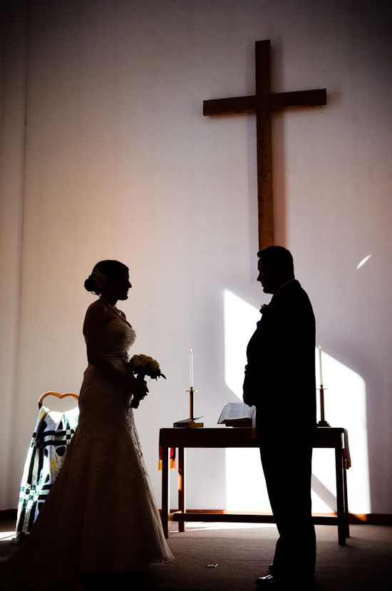 Christian wedding photography  Silouette