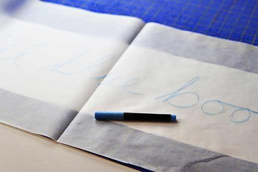 How to transfer an image to a skateboard  via lilblueboo.com #skateboard #diy #gift #handmade