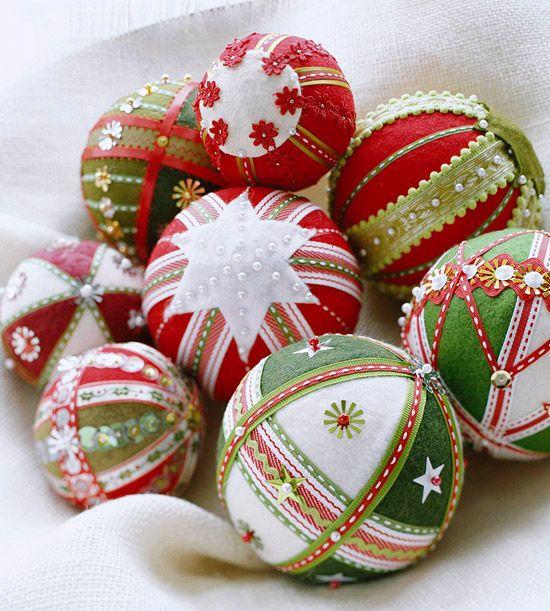 Embellished Ball Ornaments
