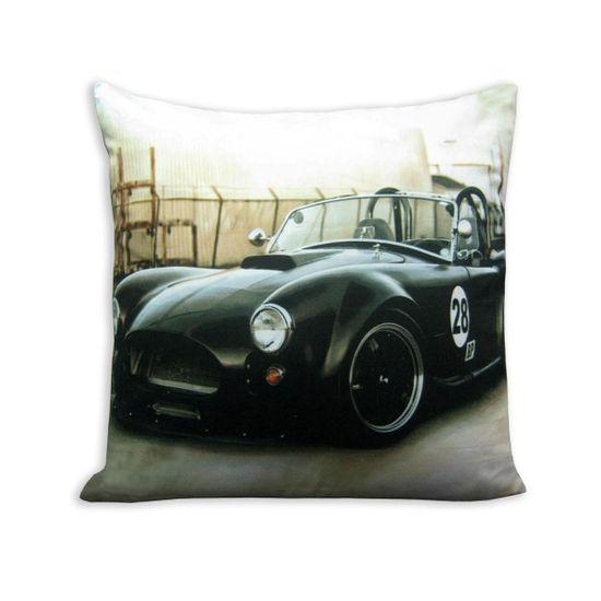 Cushion Cover Sports Car -