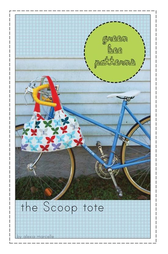 my scoop tote sewing pattern!