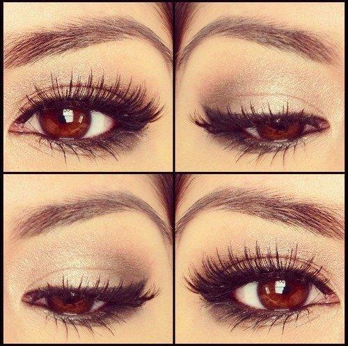 Subtle everyday eye makeup