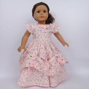 "Doll Clothes fits for 18"" American girl doll,Dress, Victorian Evening Gown 87#"