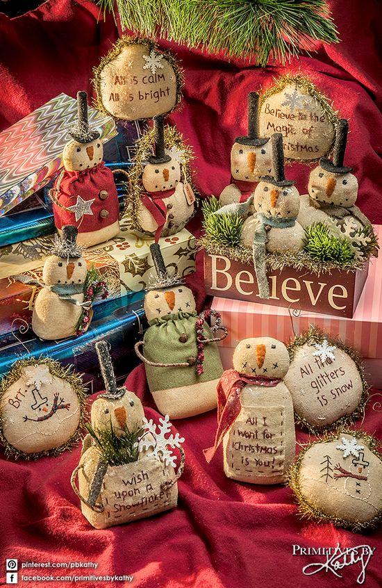 Your Christmas Decor Styles: Primitive Christmas Decor.