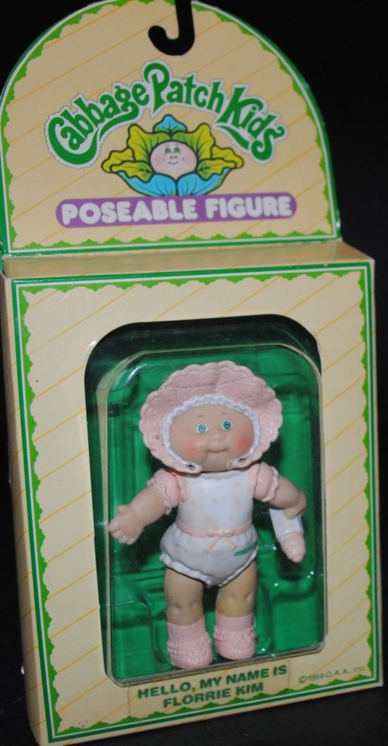 Florrie Kim #vintage #toy #cabbage #patch #kids #1980s