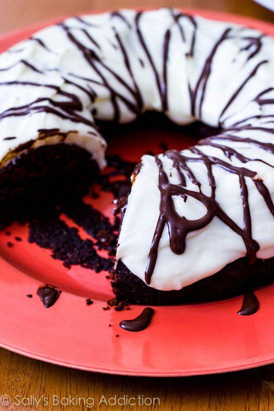 Chocolate Gingerbread Bundt Cake by Sallys Baking Addiction