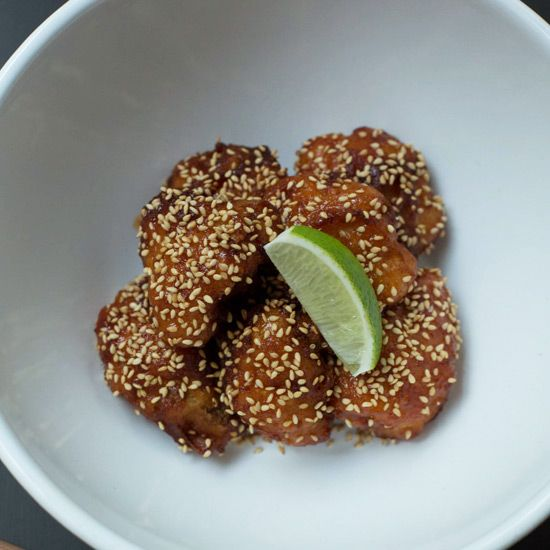 Korean-Style Fried Cauliflower // More Delicious Fried Things: www.foodandwine.c... #foodandwine