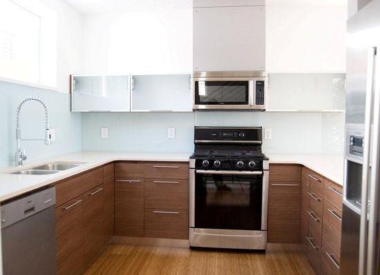 Walnut Stylish Kitchen Interior Designs