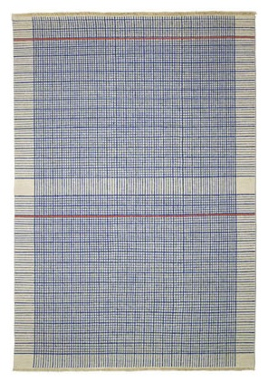 graph paper rug