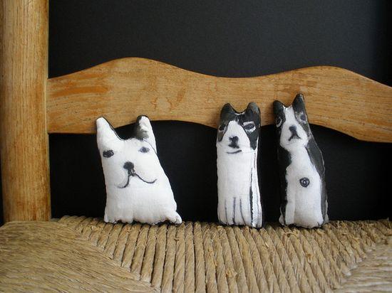 Tobin Eckian, dog softies (so cute!)