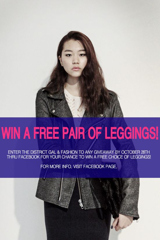 WIN A FREE PAIR OF LEGGINGS FROM FASHION2NE