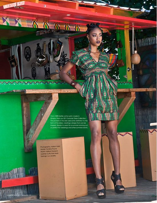 African Prints in Fashion: Prints of the Week: Adah Lux