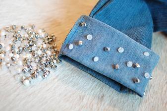 diy fashion (DIY: Beaded Jean Cuff!)