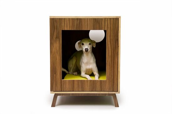 End table pet bed @ Etsy