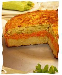 Tri-Layered Vegetable Kugel - Kosher Recipes & Cooking