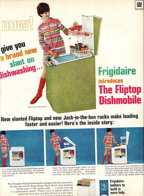 Frigidaire Fliptop Dishmobile - 1968