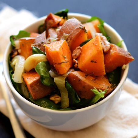 Love anything with sweet potatoes.