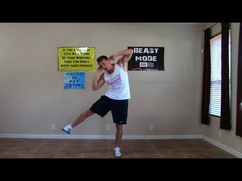5 Standing Ab Exercises - HASfit Standing Abs Workout - Standing Abdominal Workouts Exercise