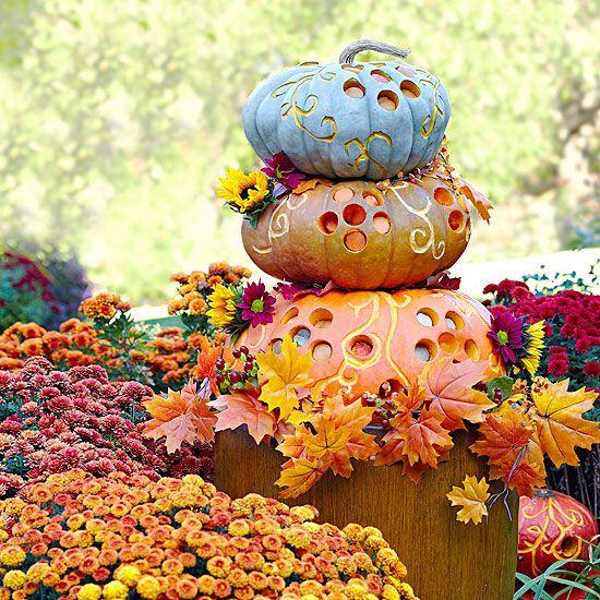 ???? Pumpkin Stack
