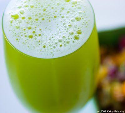 """My Glass is Greener"" Juice"