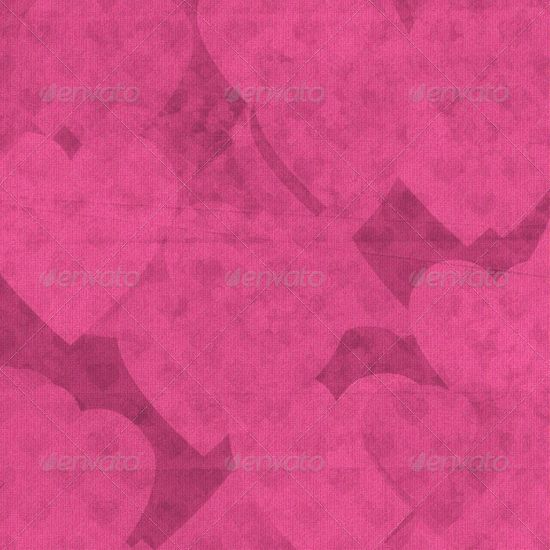 Romantic valentine paper with hearts 4