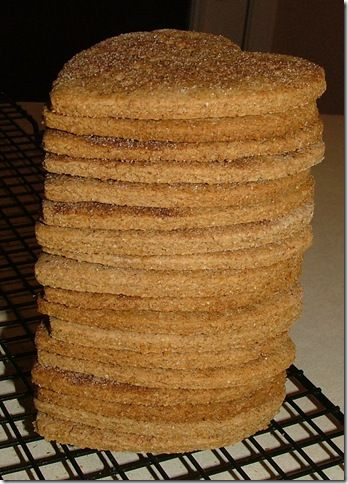 Homemade graham crackers without all those nasty ingredients that store bought ones have.