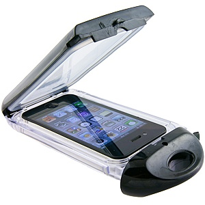 #Waterproof Case for Apple #iPhone 4 & iPhone 4S, Black $29.99 From #DayDeal