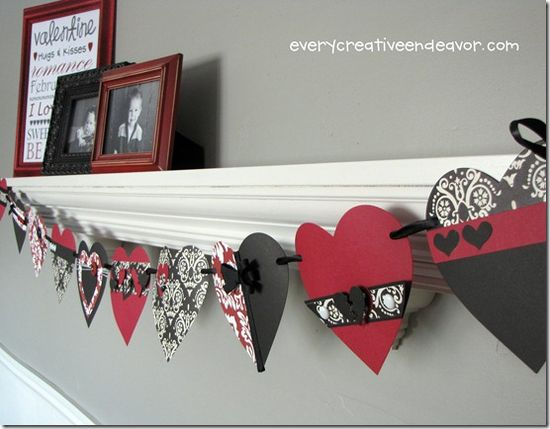 Valentine banner
